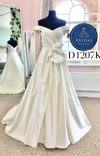 David Fielden | Wedding Dress | Aline | D1207K