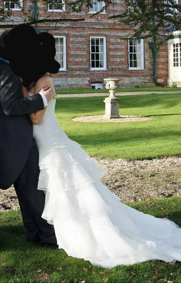 Alfred Angelo   Wedding Dress   Drop Waist   C2494