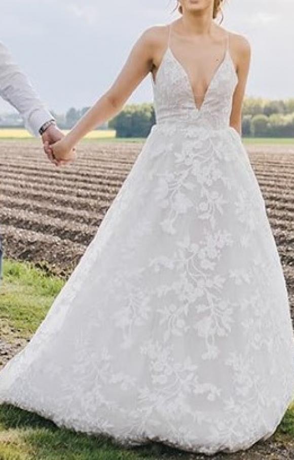 Hayley Paige   Wedding Dress   Aline   C2400
