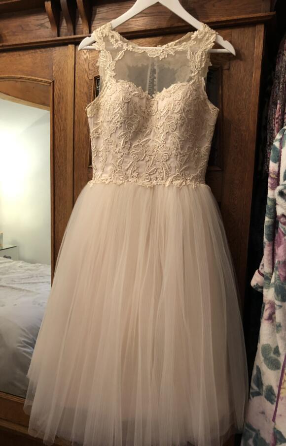 House of Mooshki   Wedding Dress   Tea Length   C2563