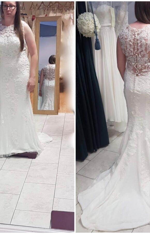 Copplestones Bridal | Wedding Dress | Fit to Flare | C2505