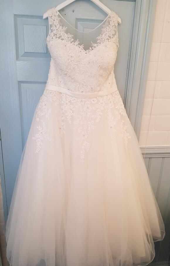 Sincerity   Wedding Dress   Tea Length   C2475