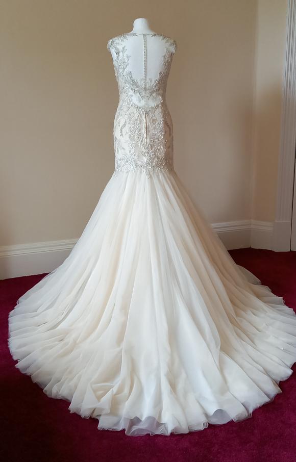 David Tutera   Wedding Dress   Trumpet   C2480