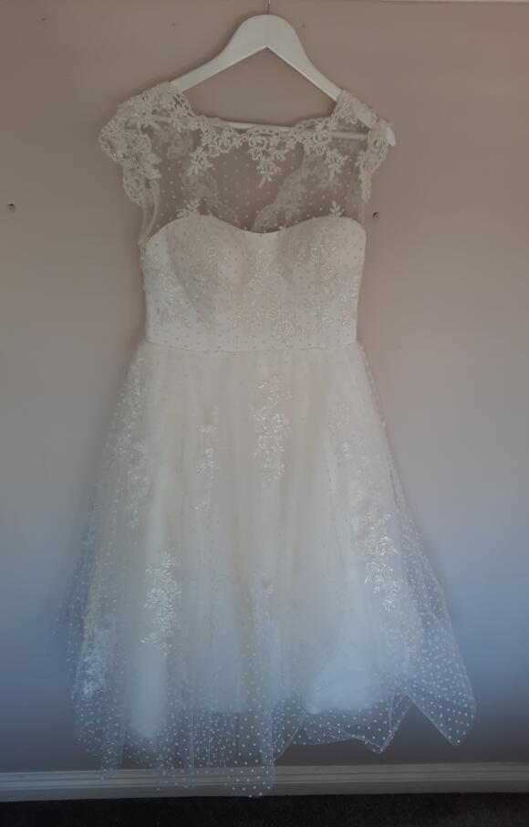 House of Mooshki | Wedding Dress | Tea Length | C2634