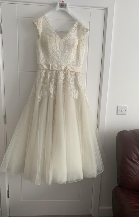 Justin Alexander | Wedding Dress | Tea Length | C2514