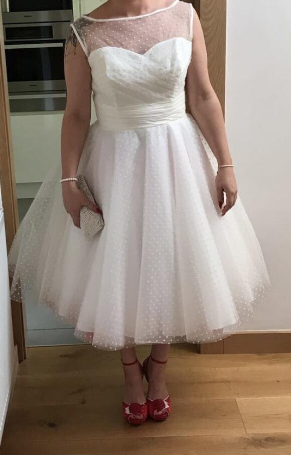 Brighton Belle | Wedding Dress | Tea Length | C2541