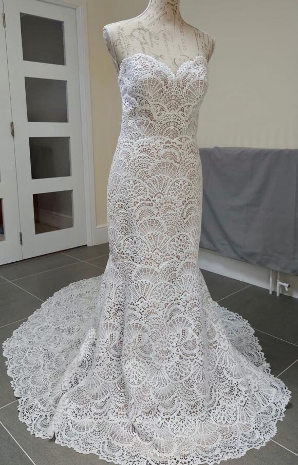 Watters   Wedding Dress   Fit to Flare   C2489