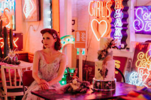 Bride Magazine – A Vibrant 50s Inspired Shoot in London