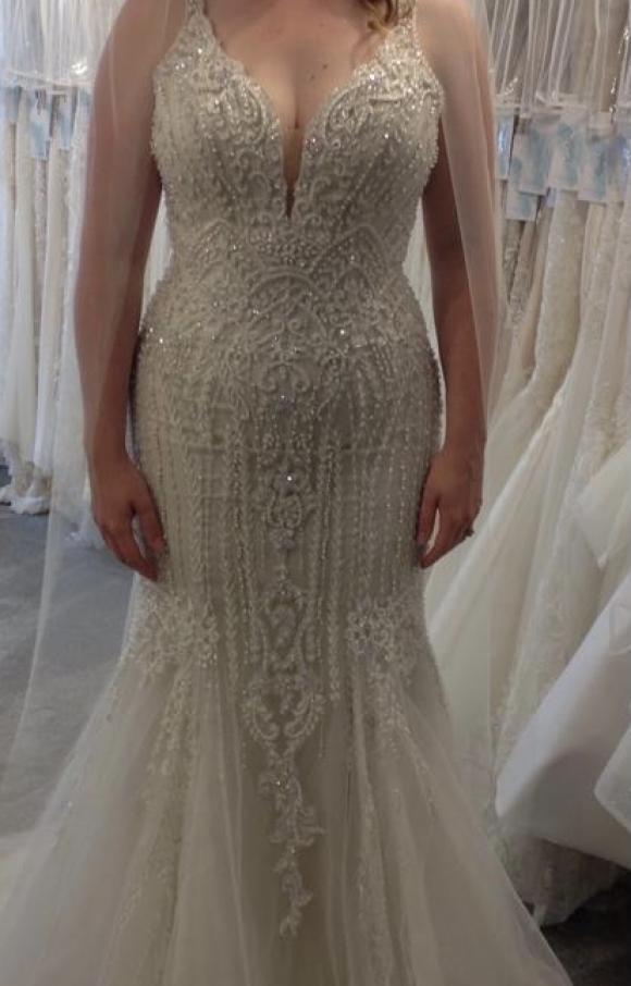 Martin Thornburg | Wedding Dress | Fishtail | C2522