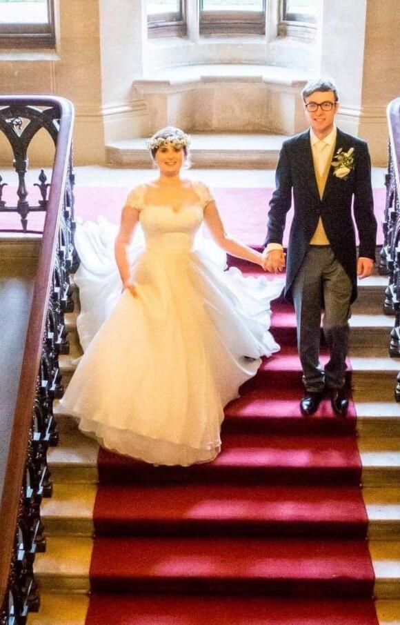 Caroline Castiliagno Bridal Dress