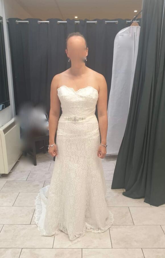 Copplestones Bridal   Wedding Dress   Fit to Flare   C2511