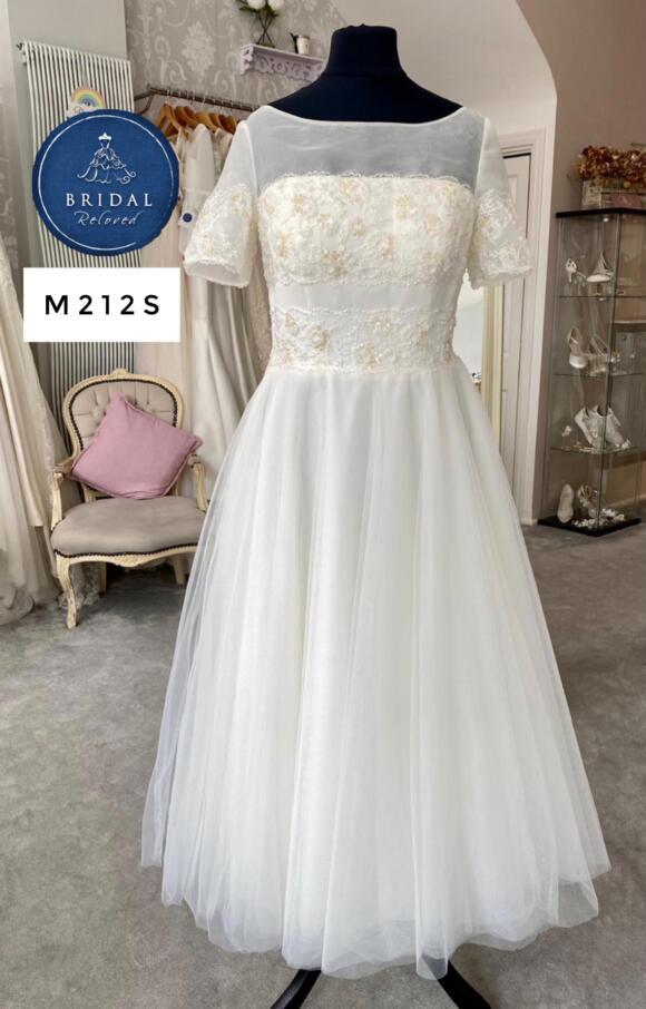 Rita Mae   Wedding Dress   Tea Length   M212S
