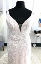 Luv and Luxe | Wedding Dress | Fit to Flare | WF210H