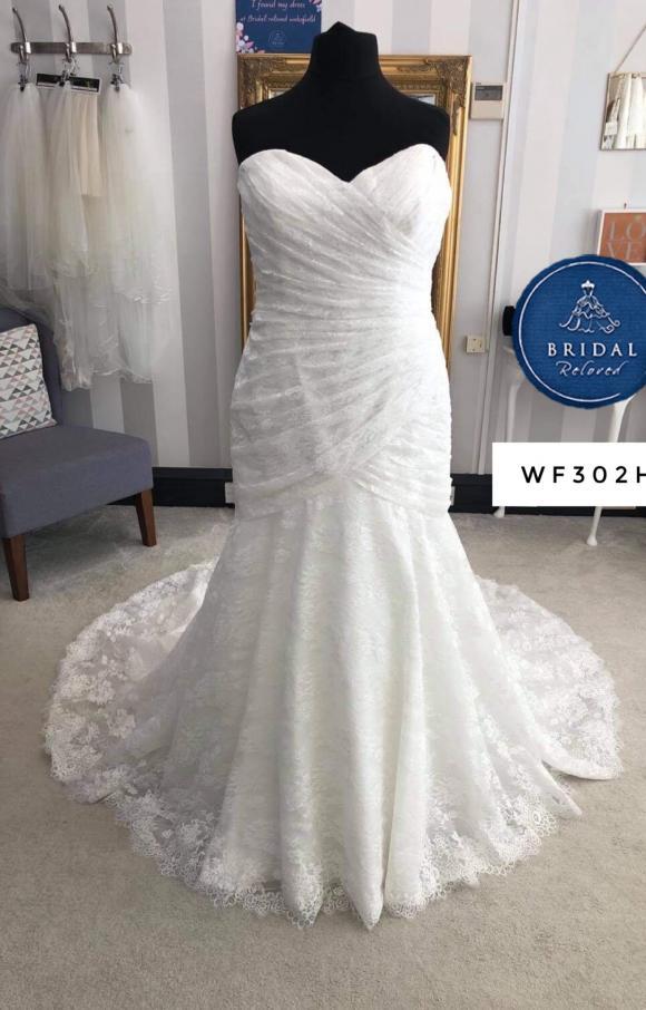 Morilee | Wedding Dress | Drop Waist | WF302H
