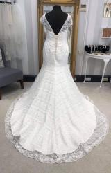 White Rose | Wedding Dress | Fit to Flare | WF303H