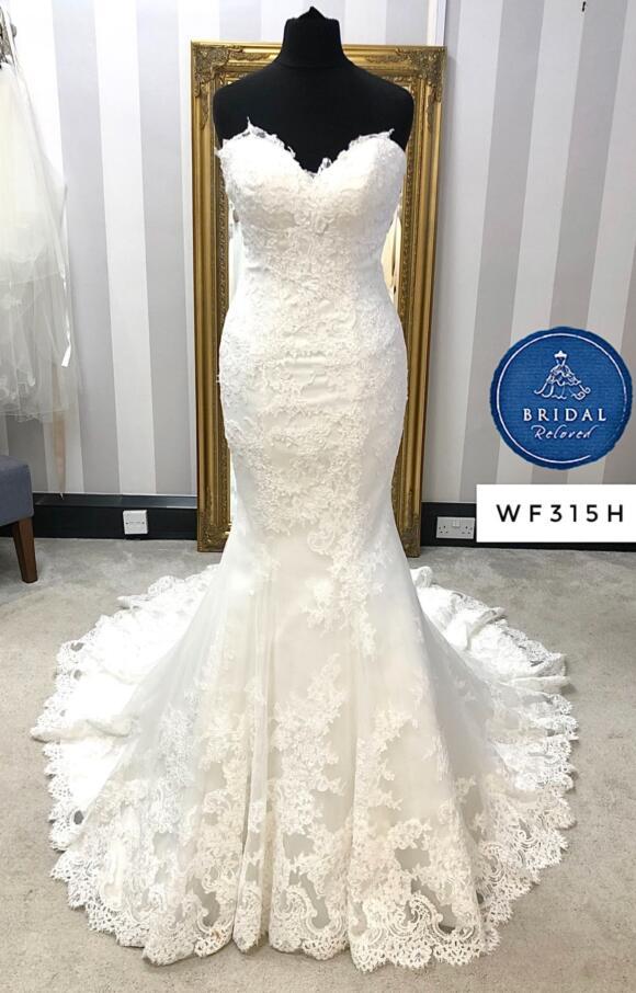 Nicole Spose   Wedding Dress   Fishtail   WF315H