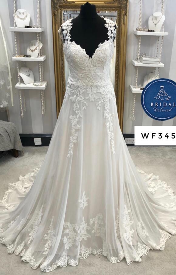 Justin Alexander | Wedding Dress | Aline | WF345H