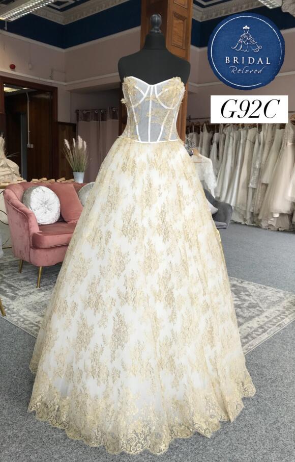 David Fielden   Wedding Dress   Aline   G92C