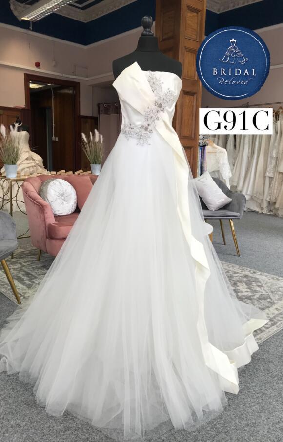 David Fielden   Wedding Dress   Aline   G91C