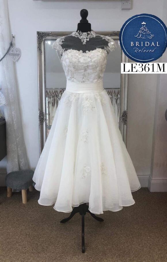 Marc Le Carr | Wedding Dress | Tea Length | LE361M