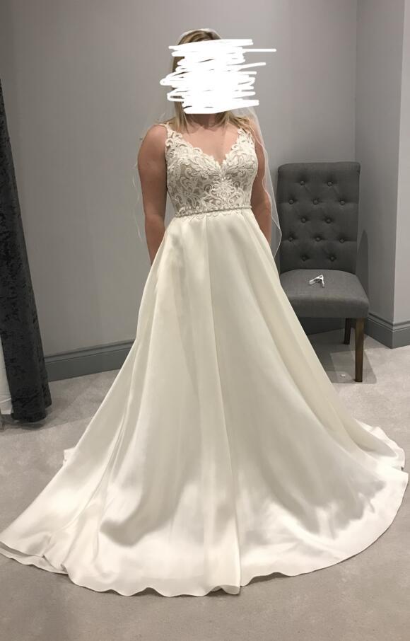 Stella York   Wedding Dress   Aline   C2461