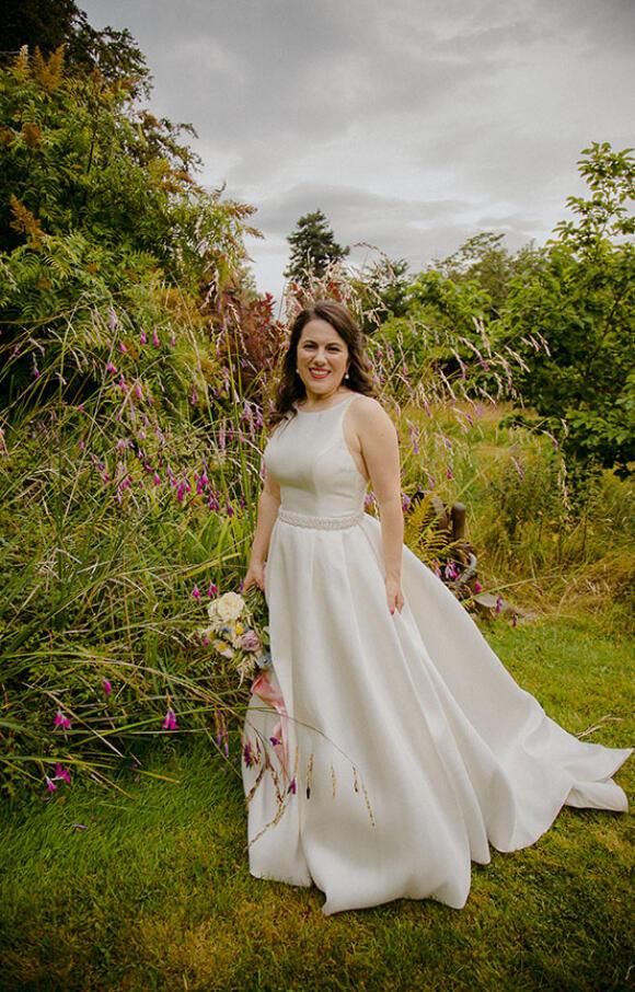 Unknown Designer   Wedding Dress   Aline   C2638