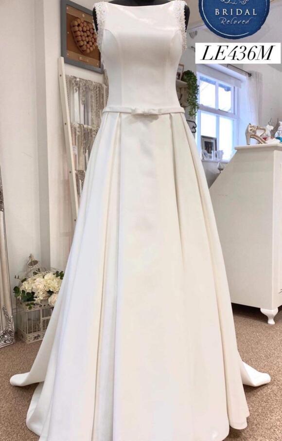 Monica Loretti | Wedding Dress | Aline | LE436M