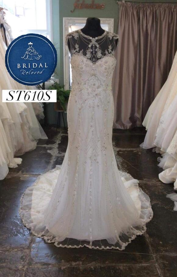 Sottero and Midgley | Wedding Dress | Fit to Flare | ST610S