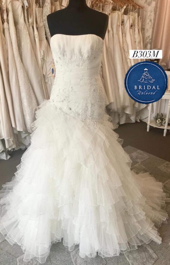 Pronovias   Wedding Dress   Drop Waist   B303M