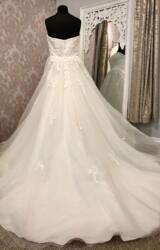 Tom Flowers   Wedding Dress   Aline   Y178E