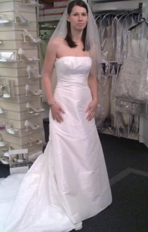 Allure Bridals   Wedding Dress   Column   C2623