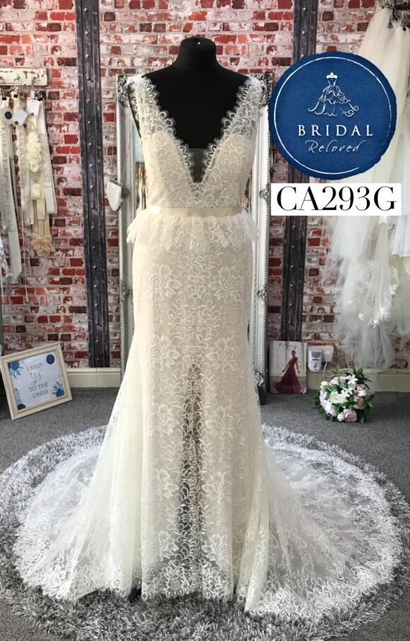 Watters | Wedding Dress | Fit to Flare | CA293G