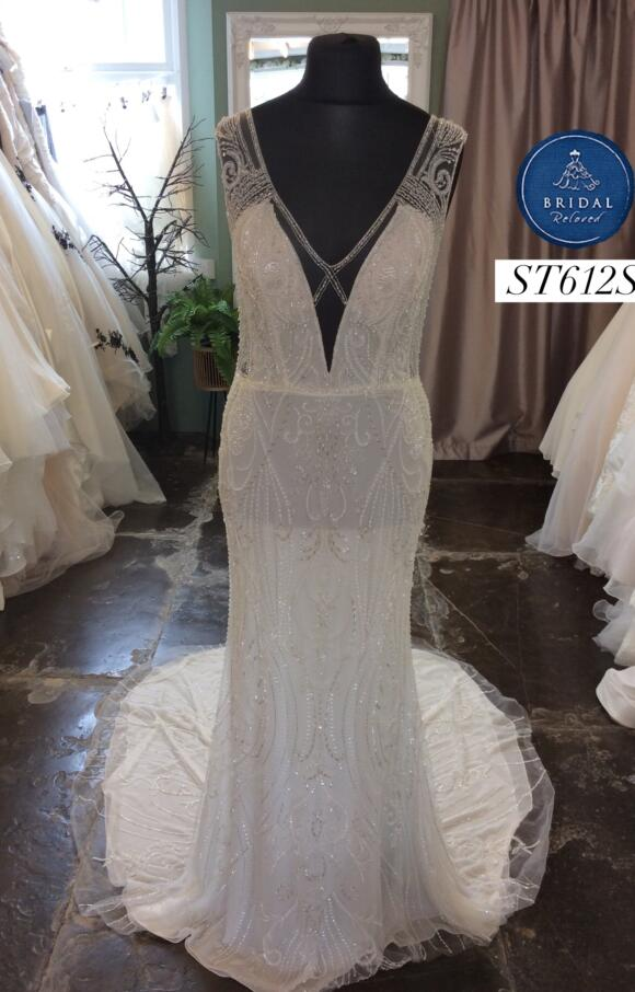 Nicole Spose   Wedding Dress   Fit to Flare   ST612S