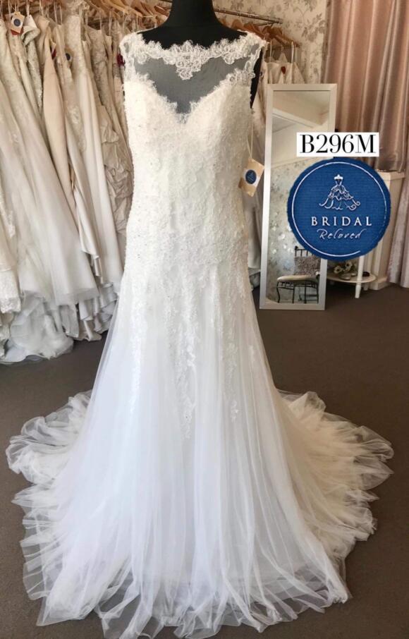 Kathryn Trueman | Wedding Dress | Drop Waist | B296M