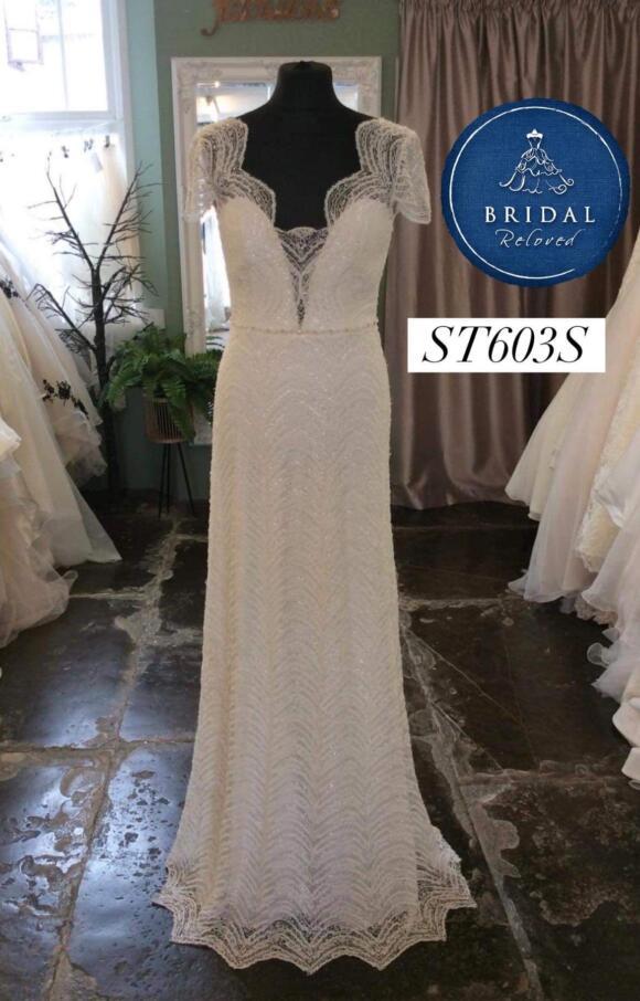 Savin   Wedding Dress   Column   ST603S