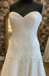 White Rose | Wedding Dress | Aline | WN150D