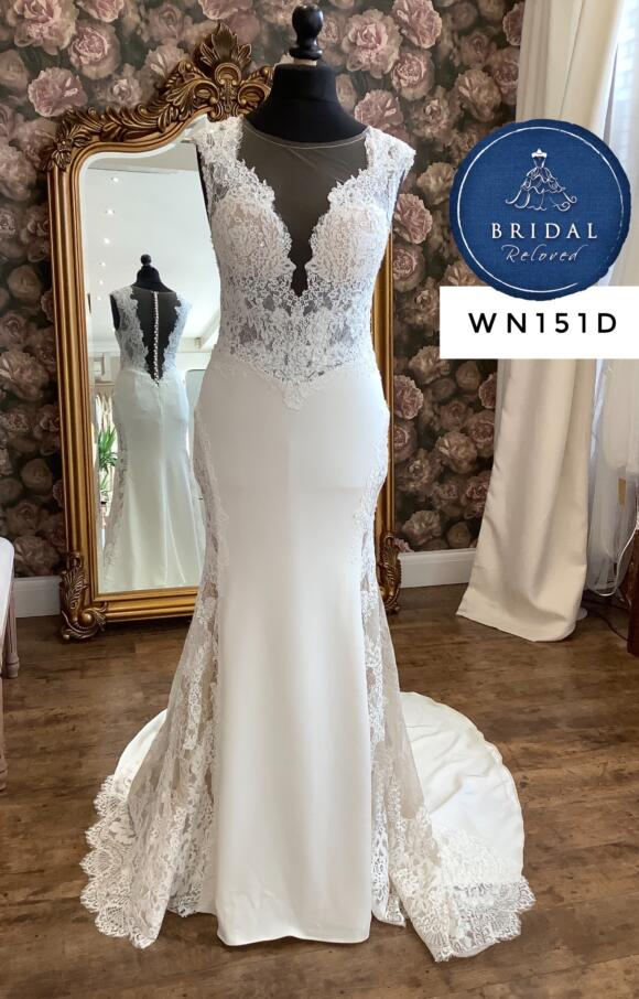 Watters | Wedding Dress | Fit to Flare | WN151D