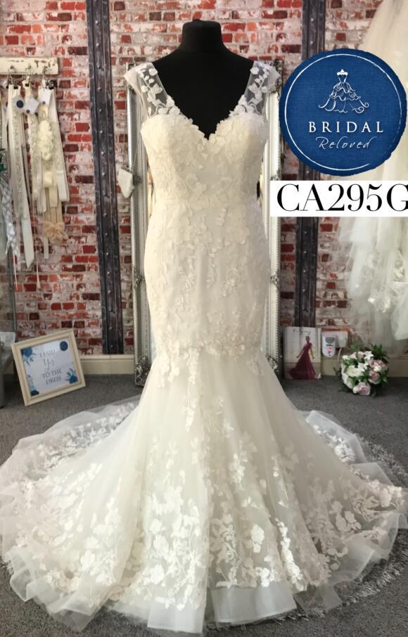 David Tutera | Wedding Dress | Fit to Flare | CA295G