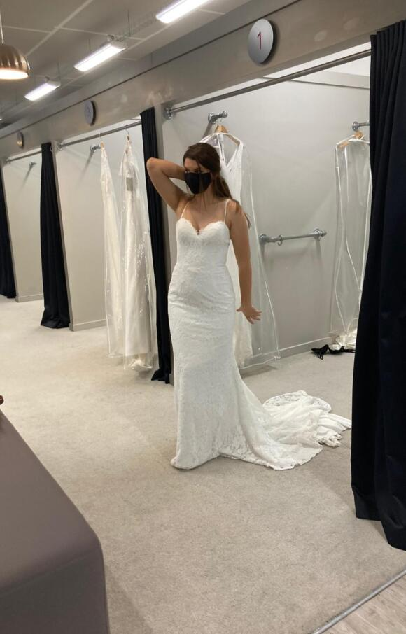 Wed2b   Wedding Dress   Fit to Flare   C2662