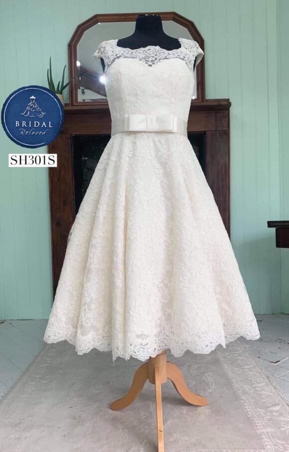 Lou Lou | Wedding Dress | Tea Length | SH301S