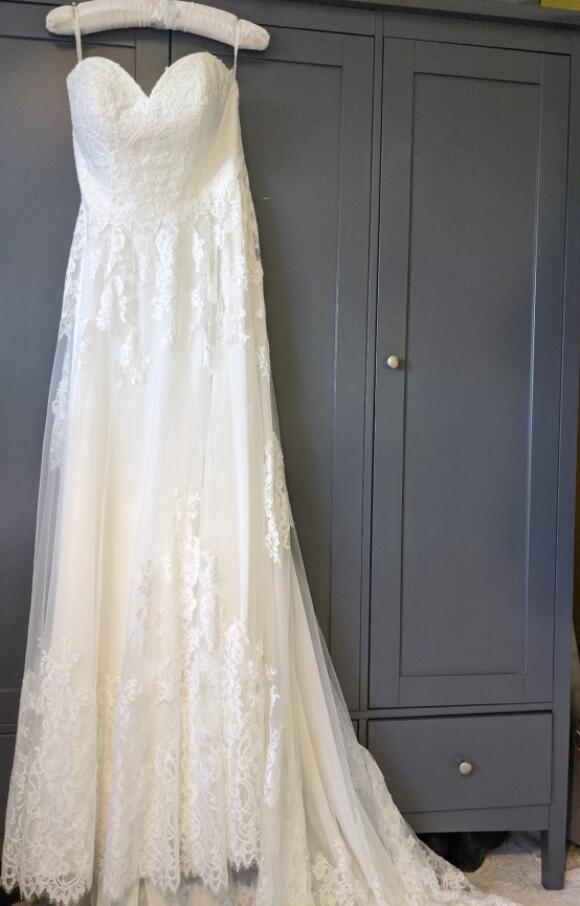 Stella York   Wedding Dress   Aline   C2628