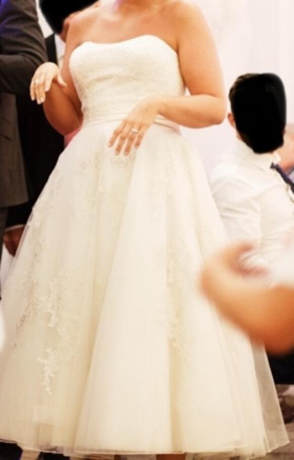 Justin Alexander | Wedding Dress | Tea Length | C2599