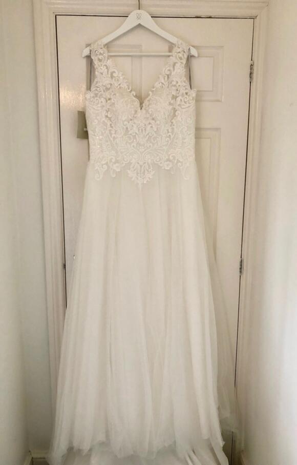 Wed2B   wedding Dress   Aline   C2592