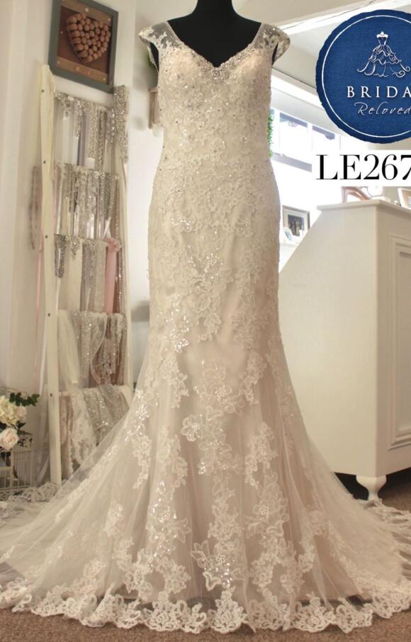 Sophia Tolli | Wedding Dress | Fit to Flare | LE267M