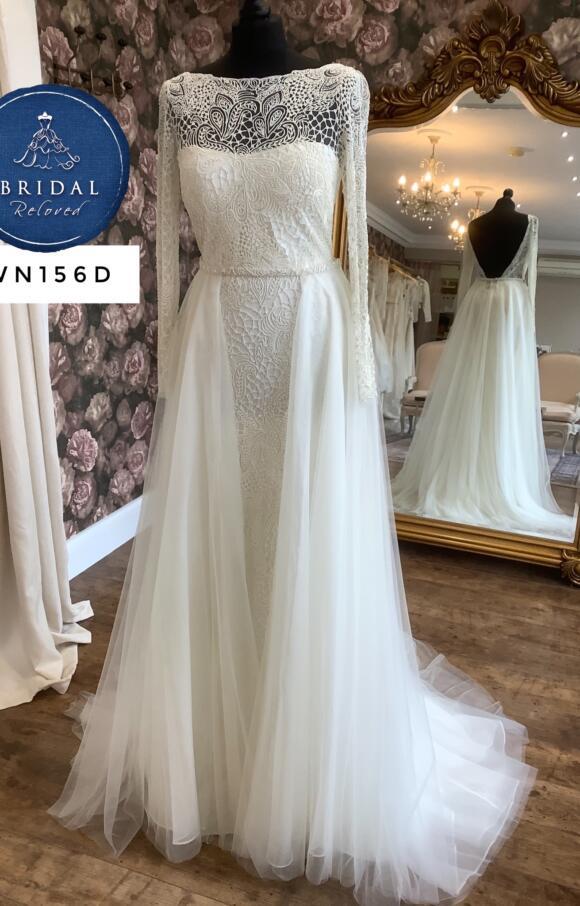 Eliza Jane Howell   Wedding Dress   Column   WN156D