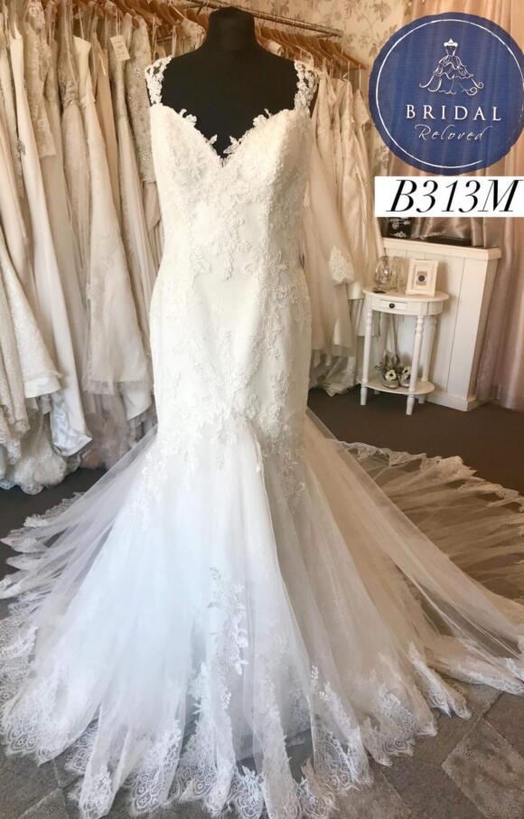 Nicole Spose | Wedding Dress | Fit to Flare | B313M