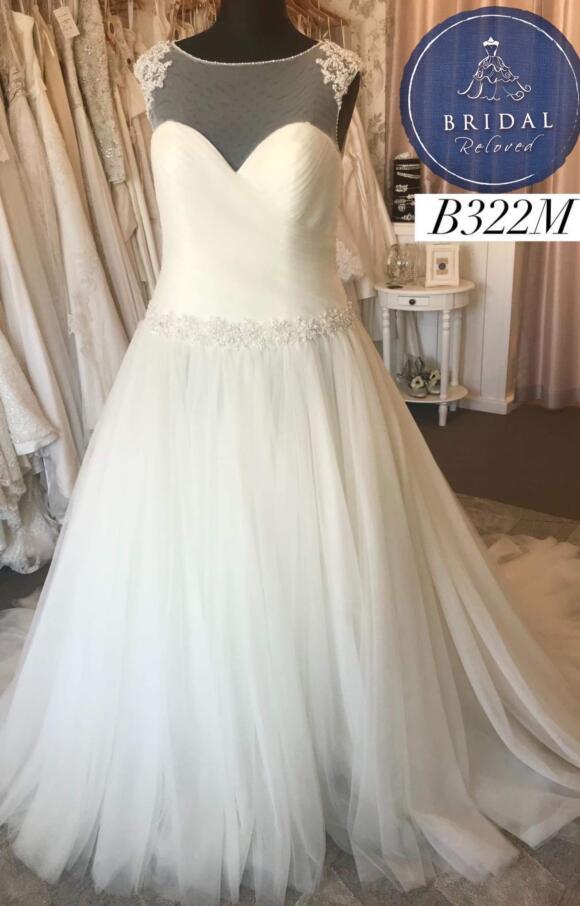 Sofia Bianca   Wedding Dress   Aline   B322M