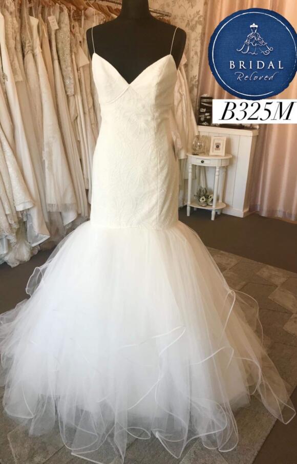 Hayley Paige   Wedding Dress   Drop Waist   B325M