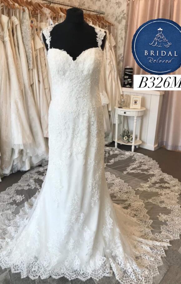 Nicole Spose | Wedding Dress | Fit to Flare | B326M