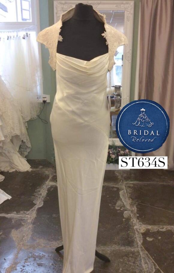 David Fielden | Wedding Dress | Column | ST634S